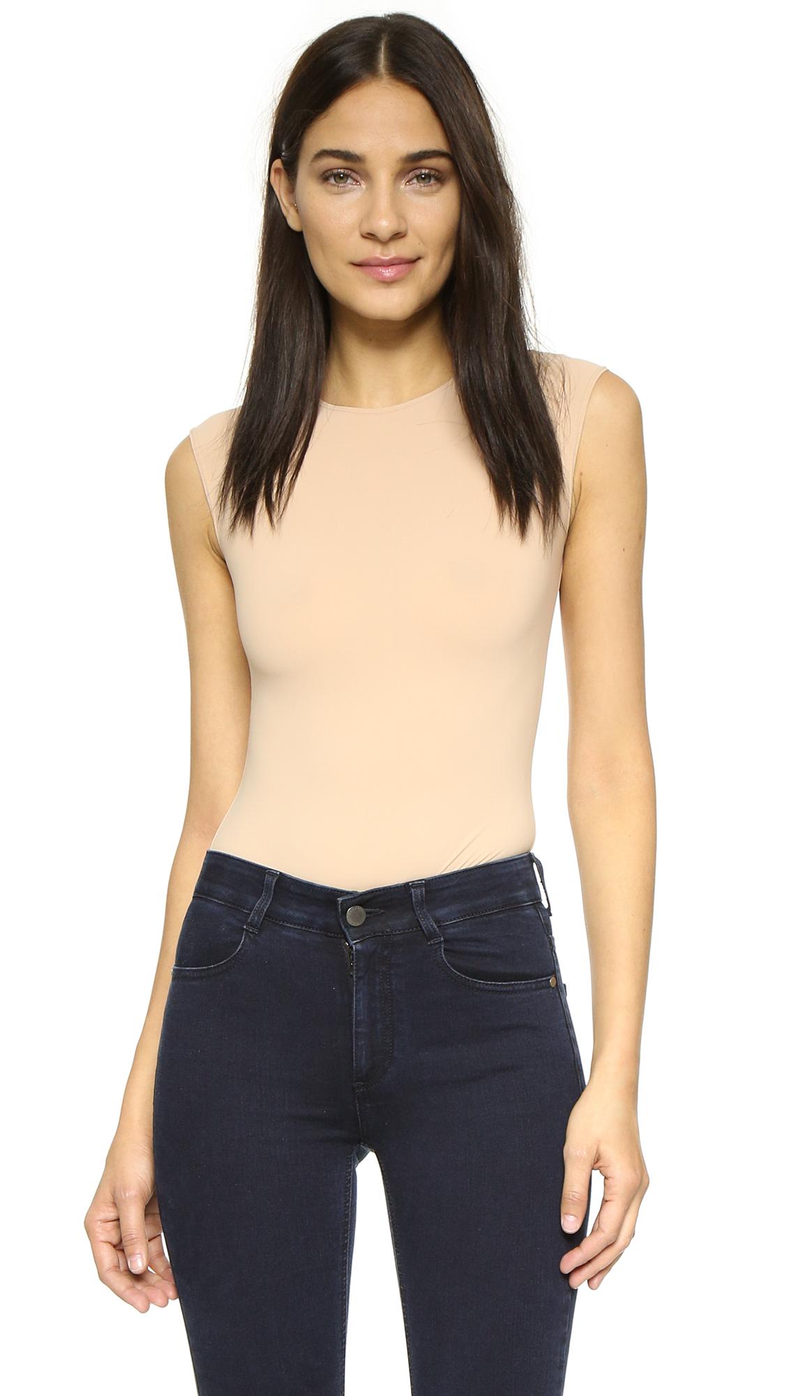 Alix Lenox Skin Thong Bodysuit - Nude at Shopbop