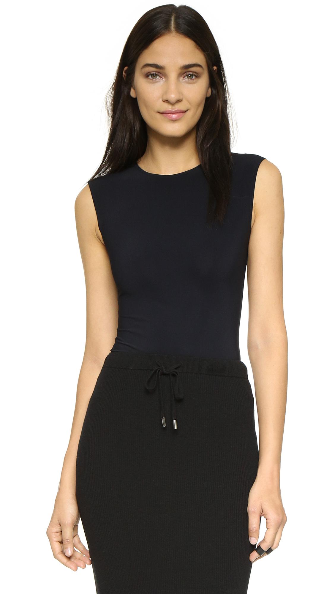 Alix Lenox Skin Thong Bodysuit - Black at Shopbop