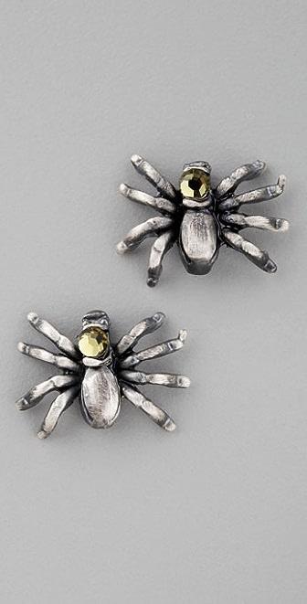 Alkemie Jewelry Spider Stud Earrings