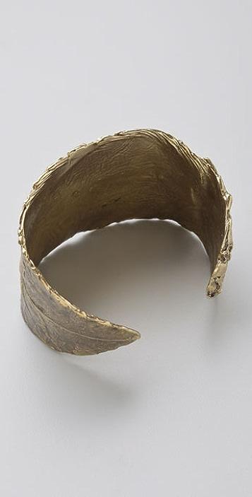 Alkemie Jewelry Leaf Cuff