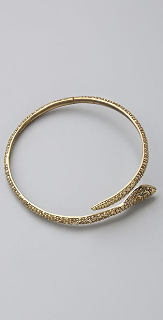 Alkemie Jewelry Textured Snake Bangle