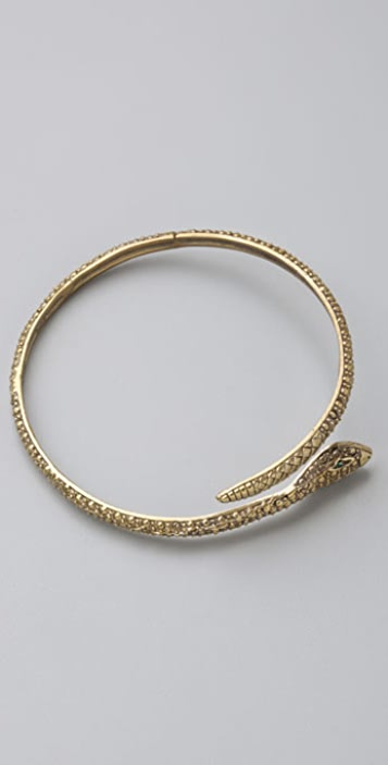 Alkemie Jewelry Textured Snake Bangle