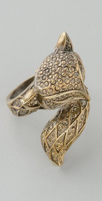 Alkemie Jewelry Fox Ring