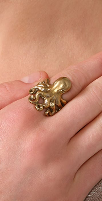 Alkemie Jewelry Octopus Ring