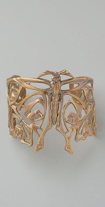 Alkemie Jewelry Nouveau Butterfly Cuff