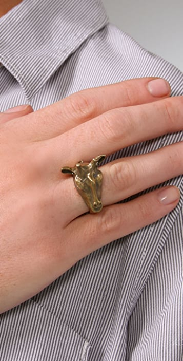 Alkemie Jewelry Giraffe Ring