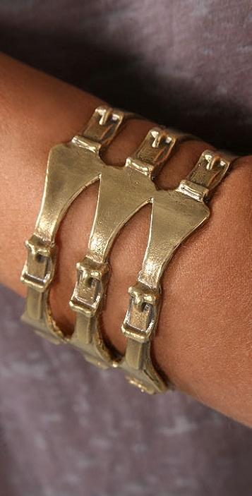Alkemie Jewelry Triple Buckle Cuff