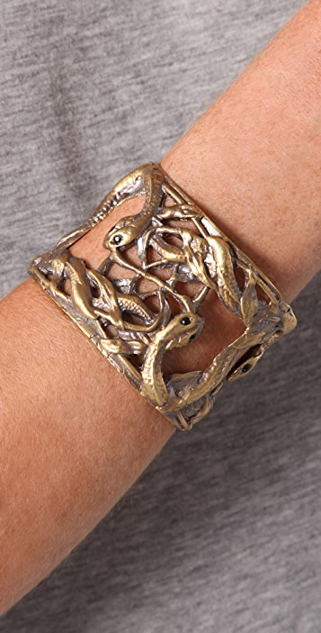 Alkemie Jewelry Snake & Vines Cuff