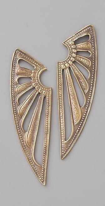 Alkemie Jewelry Deco Wing Earrings