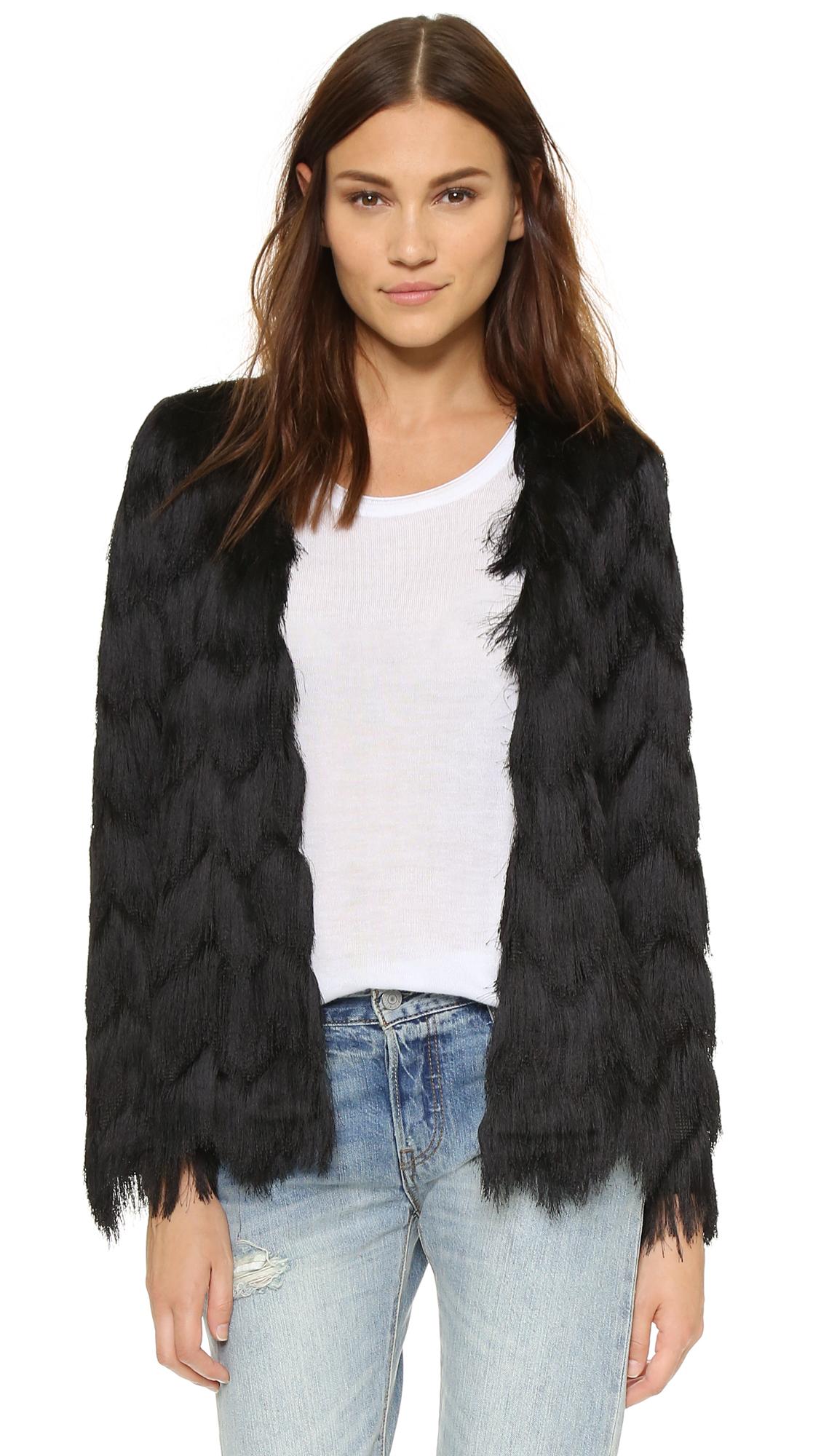 Alexis Florin All Over Fringe Jacket