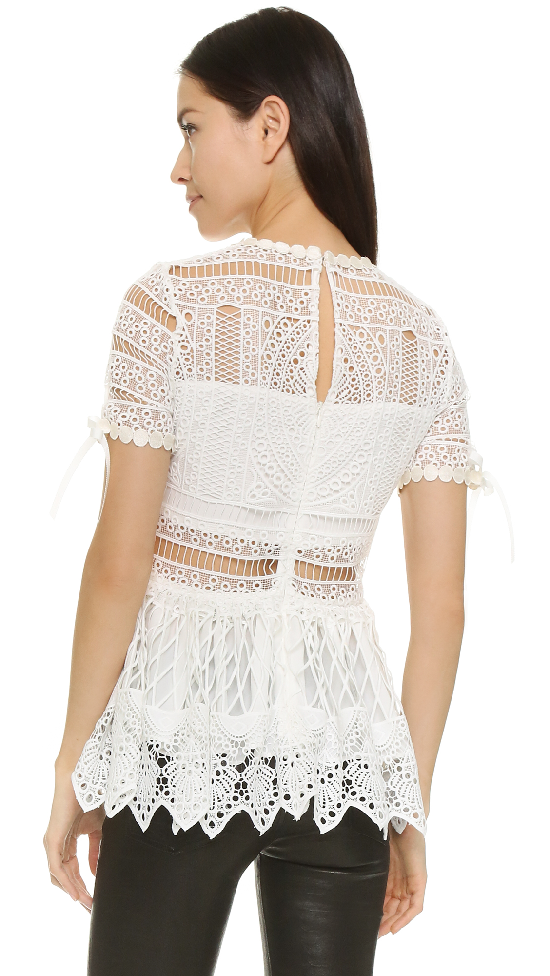7a9cf316 Alexis Juliana Crochet Top | SHOPBOP