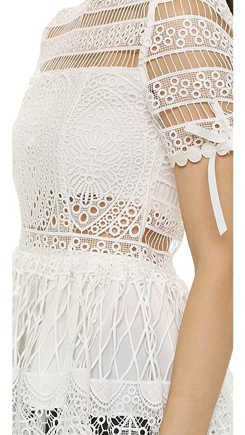 Alexis Juliana Crochet Top