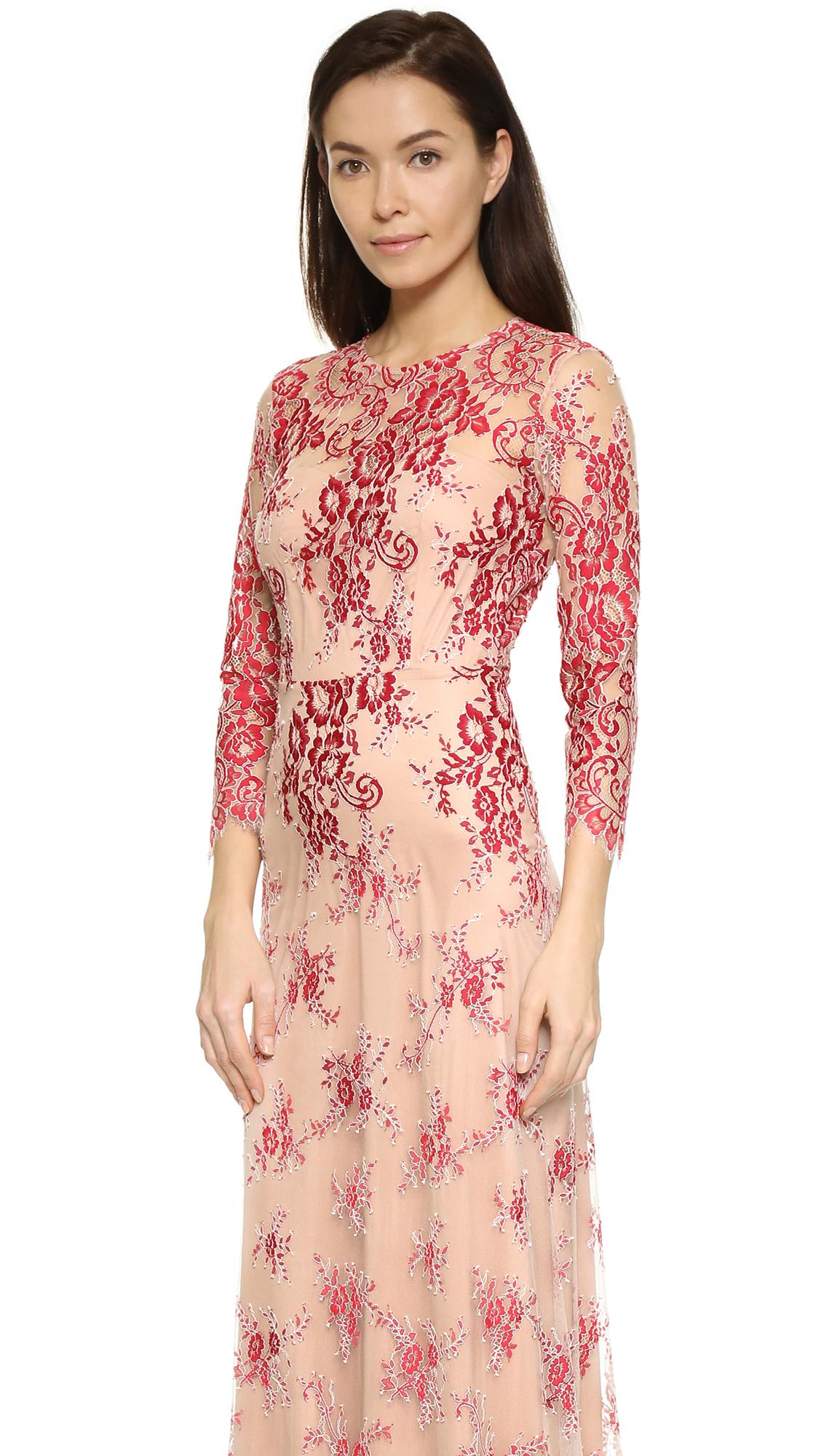 339f5de31b8 Alexis Akira Lace Gown