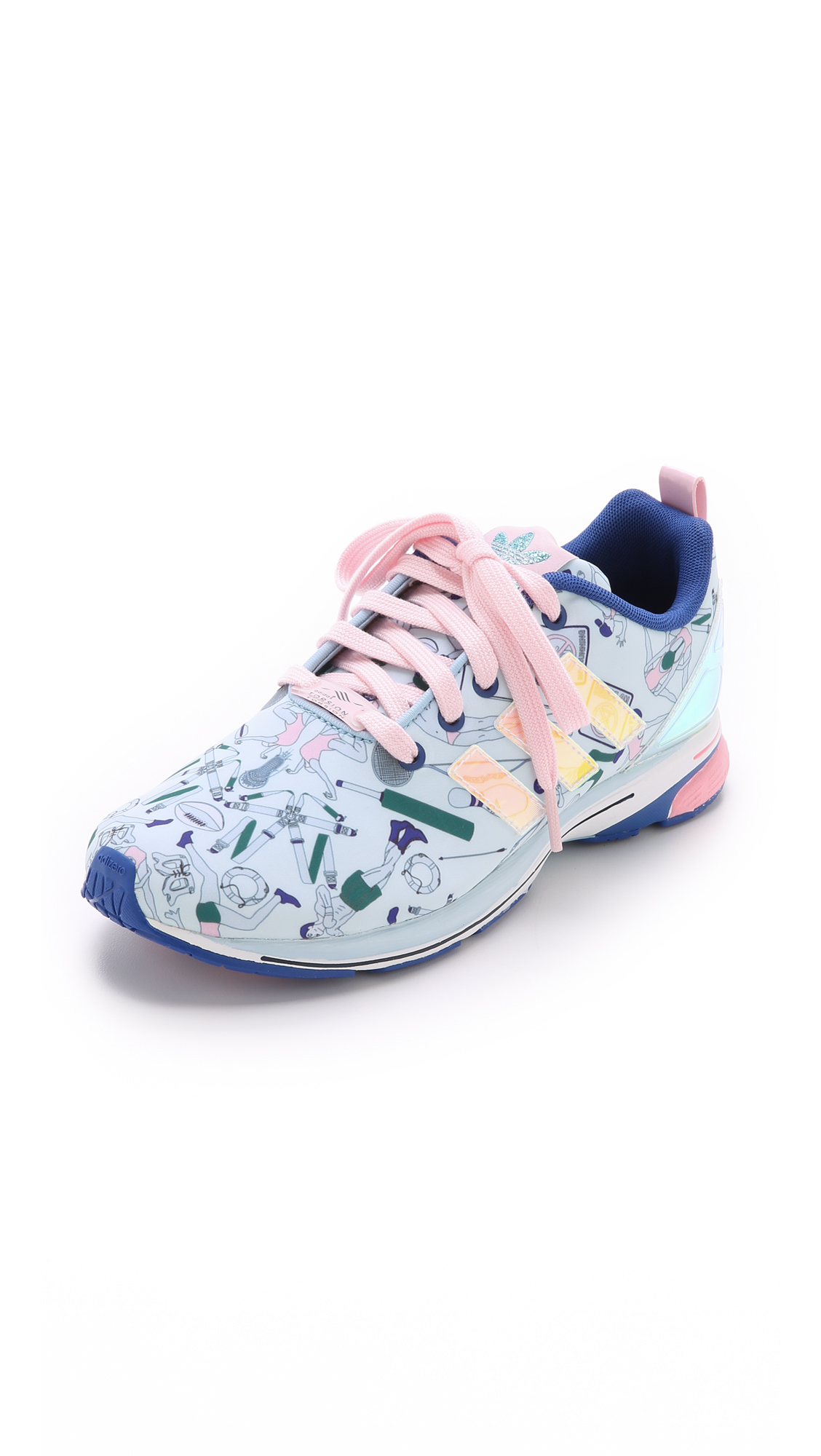e16d4bc04 adidas Originals by Mary Katrantzou MK ZX Flux Tech Jogger Sneakers ...