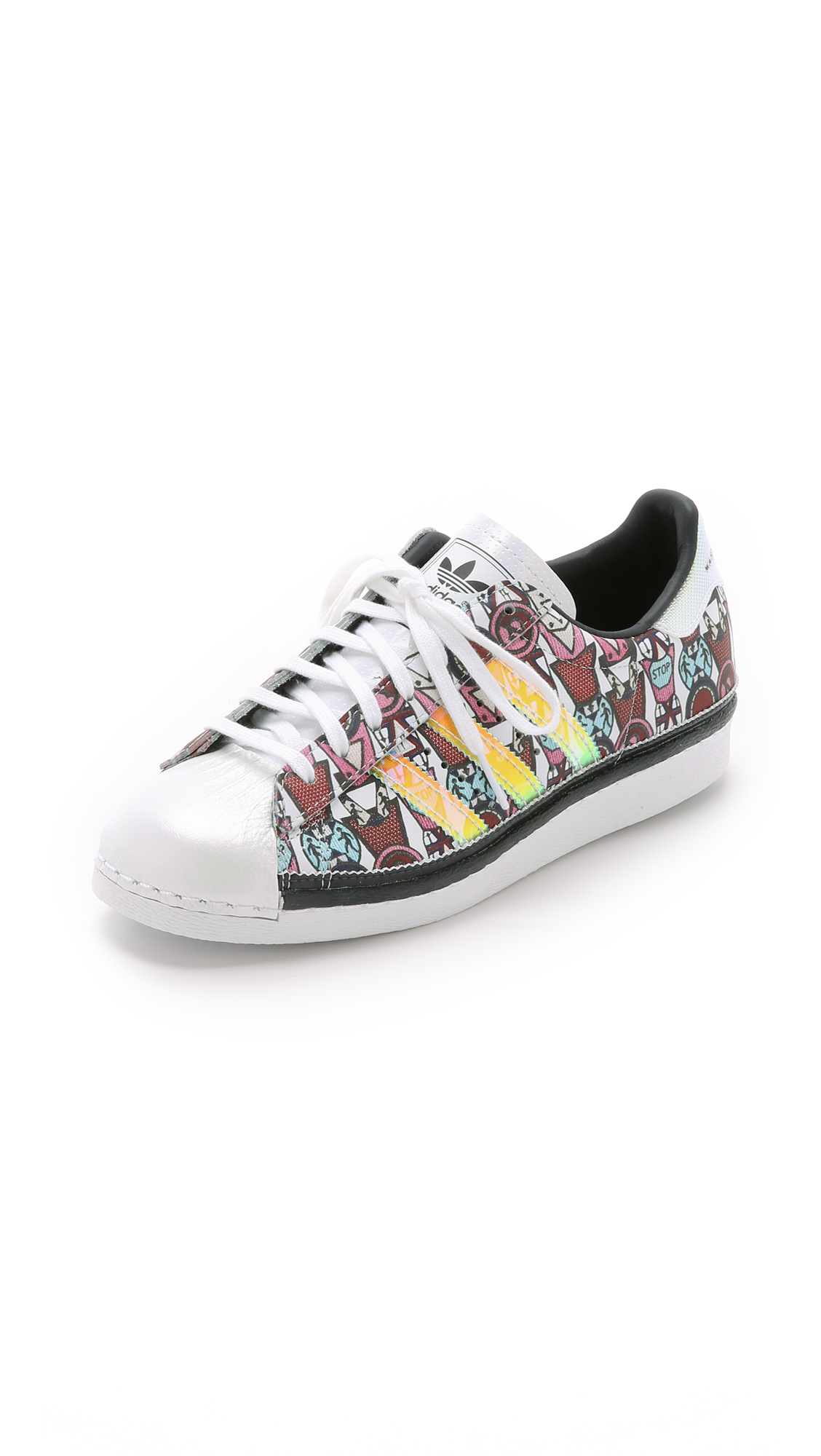 adidas Originals by Mary Katrantzou MK Superstar '80s Badges Sneakers |  SHOPBOP