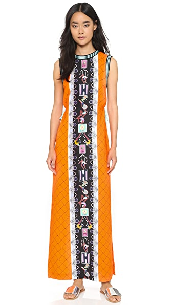 adidas Originals by Mary Katrantzou Print Sleeveless Maxi Dress