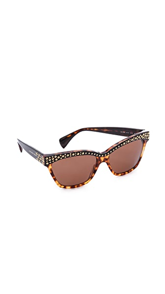 Alexander McQueen Embellished Sunglasses