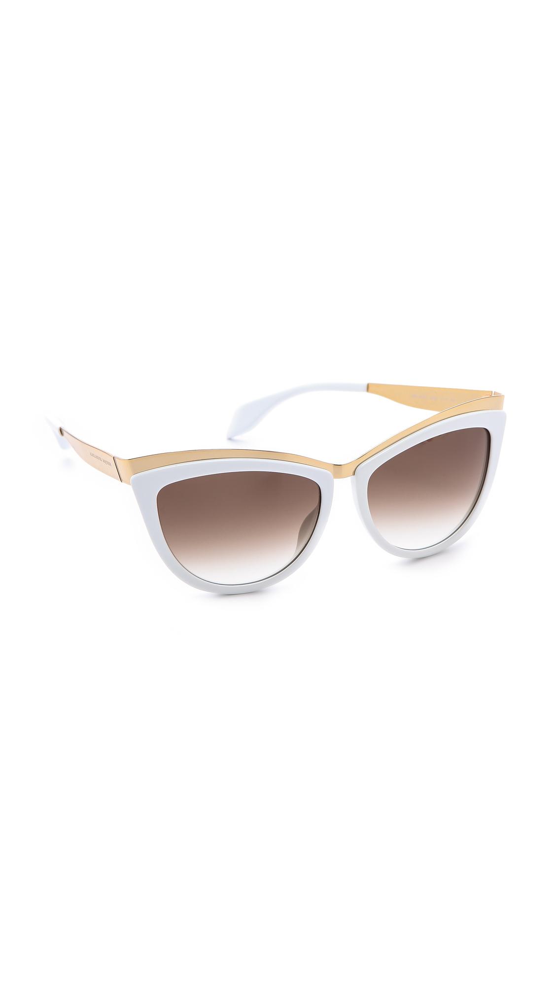 a6bb22ed8853 Alexander McQueen Cat Eye Sunglasses