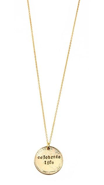 Alisa Michelle Designs Celebrate Life Necklace