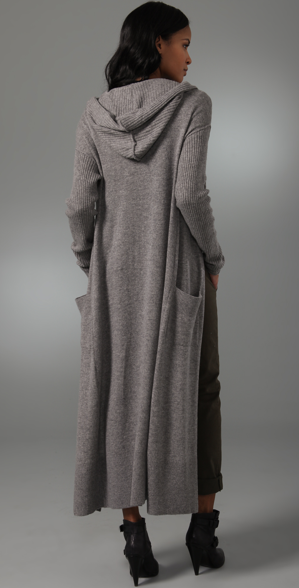 Ami Dans La Rue Hooded Duster Sweater | SHOPBOP SAVE UP TO 25% Use ...
