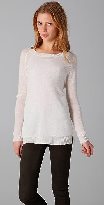 Ami Dans La Rue Crew Neck Cashmere Sweater