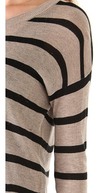 Ami Dans La Rue The Twiggy Stripe Sweater