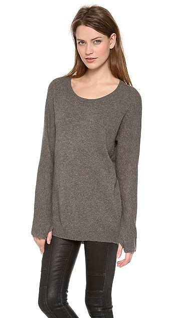 Ami Dans La Rue The Sophomore Cashmere Sweater