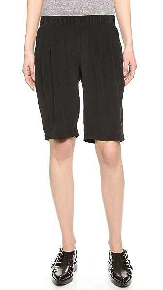 Ami Dans La Rue Tomboy Silk Shorts