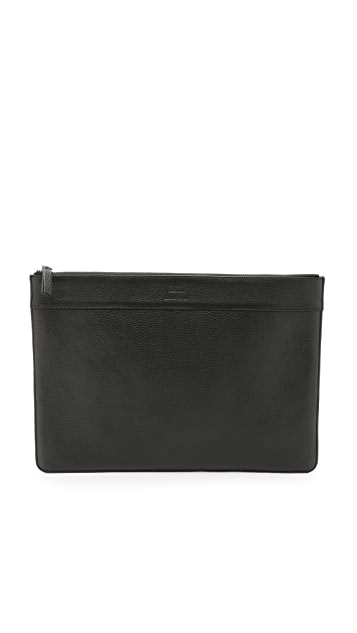 AMI Leather Document Holder