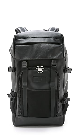 AMI Large Leather Backpack
