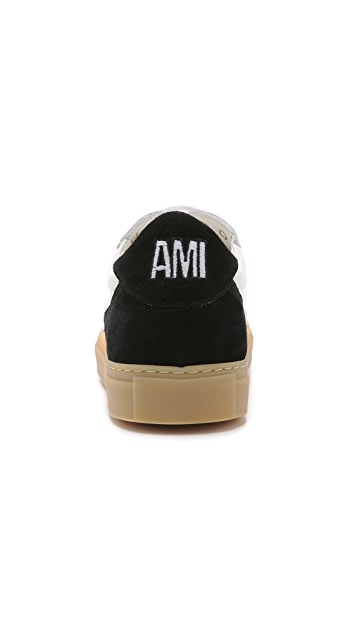 AMI Low Top Sneakers