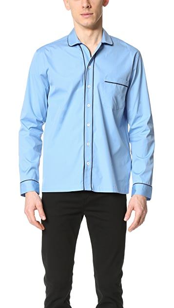 AMI Pajama Collar Shirt