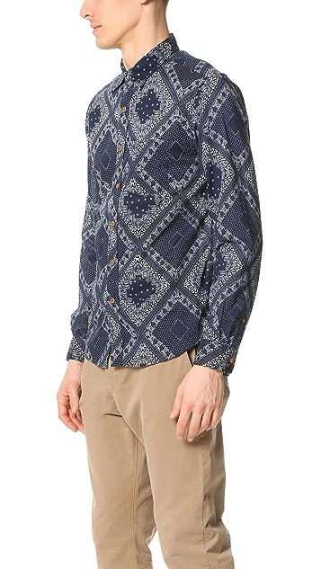 Alex Mill Bandana Print Sport Shirt