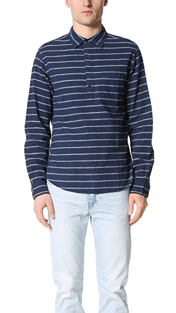 Alex Mill Tucking Stripe Cape Shirt
