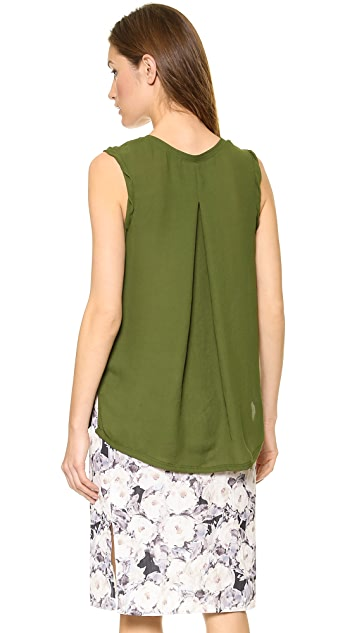 American Vintage Rosales Round Neck Sleeveless Top