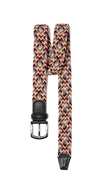 Anderson's Multicolored Woven Belt