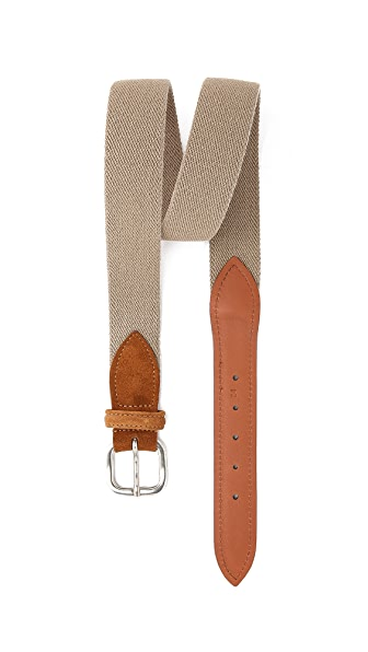 Anderson's Canvas & Suede Belt