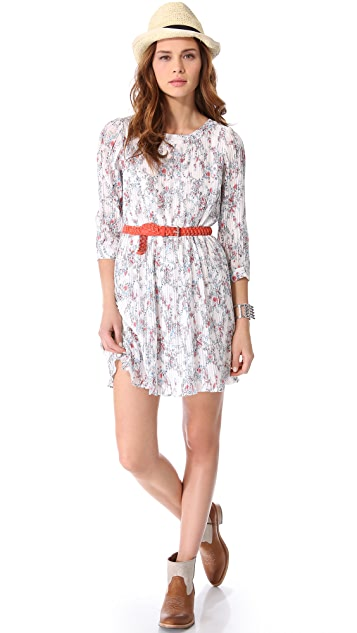 ANINE BING Floral Dress