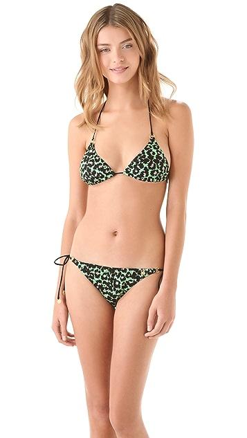 Anna & Boy Leopard String Bikini