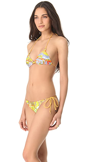 Anna & Boy Sliding Triangle Bikini