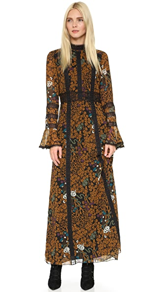Anna Sui Garden of Eden Maxi Dress