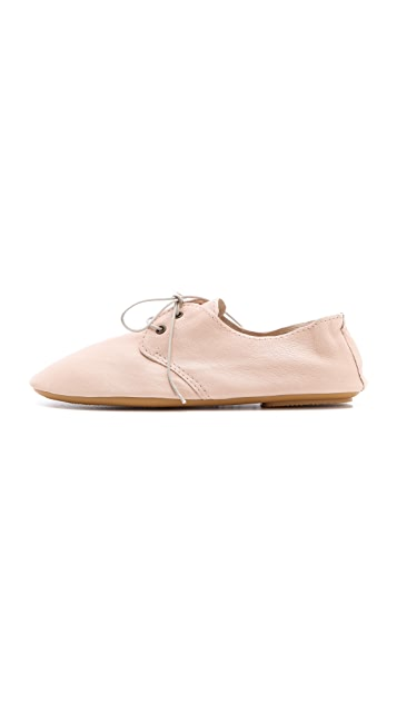 Anniel Soft Structure Leather Oxfords