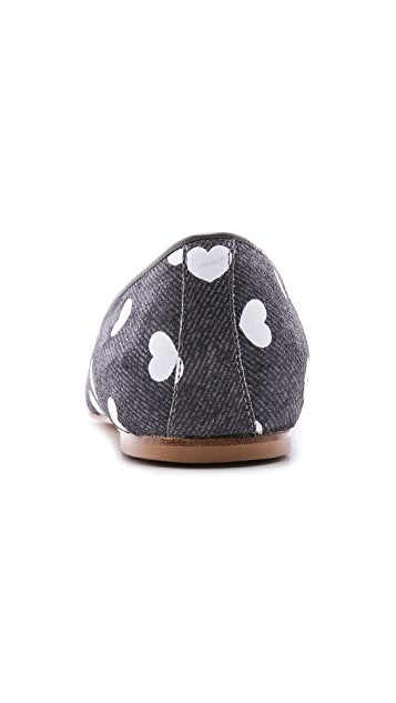 Anniel Heart Smoking Slippers