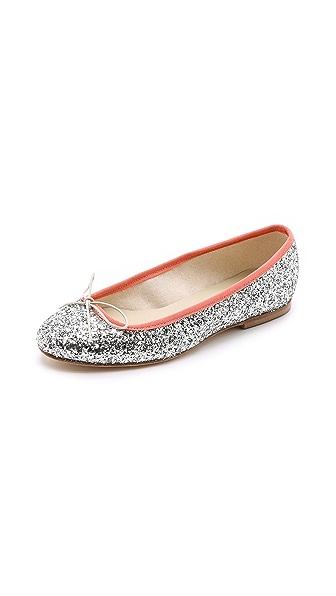 Anniel Glitter Ballerina Flats