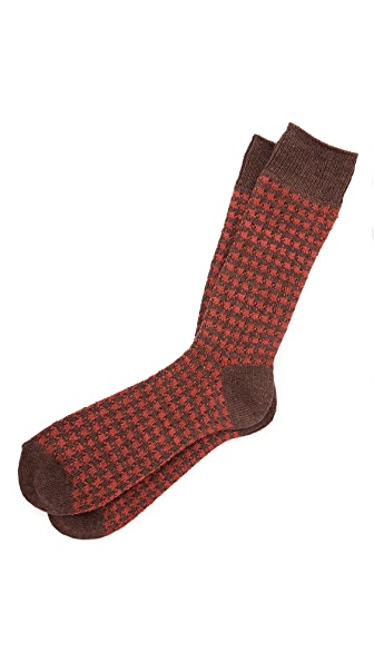 Anonymous Ism Houndstooth Socks