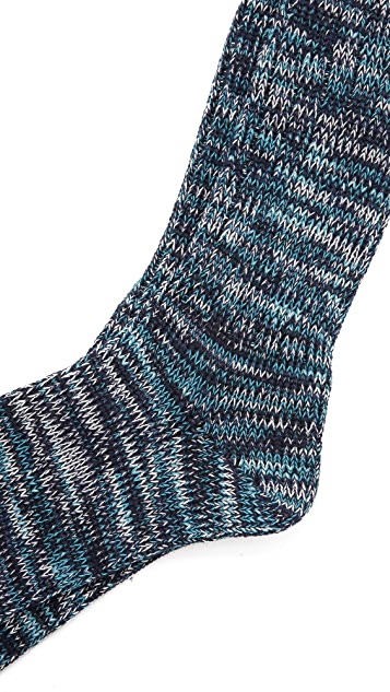 Anonymous Ism Color Mix Crew Socks