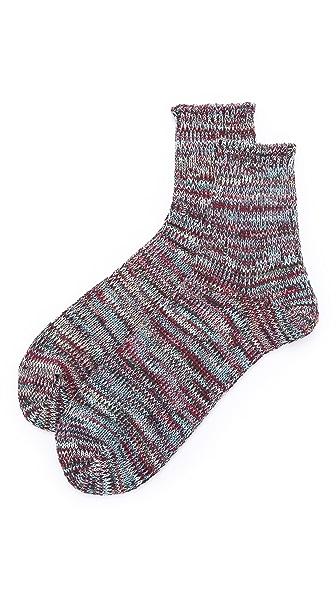 Anonymous Ism 5 Color Mix Quarter Socks