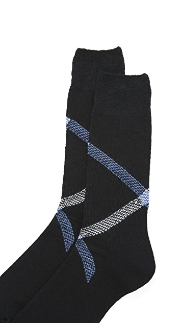 Anonymous Ism Path Cross Crew Socks