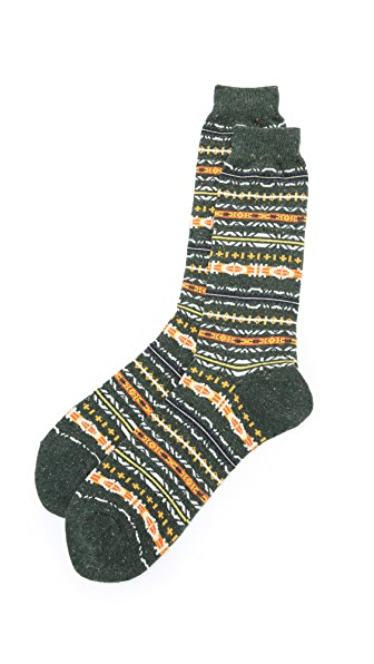 Anonymous Ism Nep Fair Isle Crew Socks