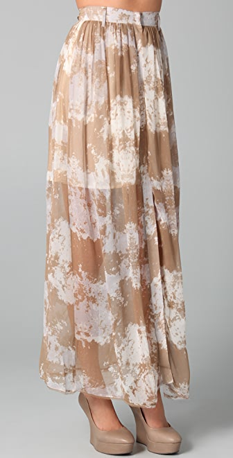 Antipodium Plainsman Maxi Skirt